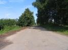Петровское вид в сторону перекрестка
